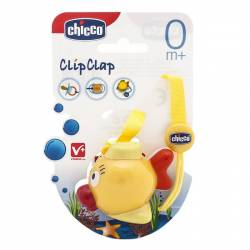 Chicco Clip con Protegechupetes 0m+ 1Ud