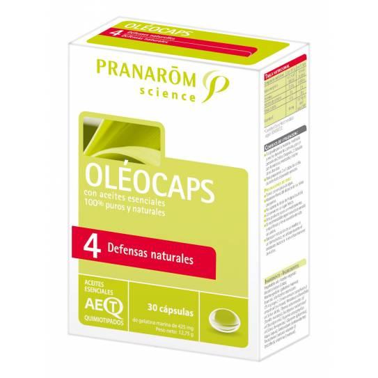 Pranarom Oleocaps 4 30Caps (AB Gripe)