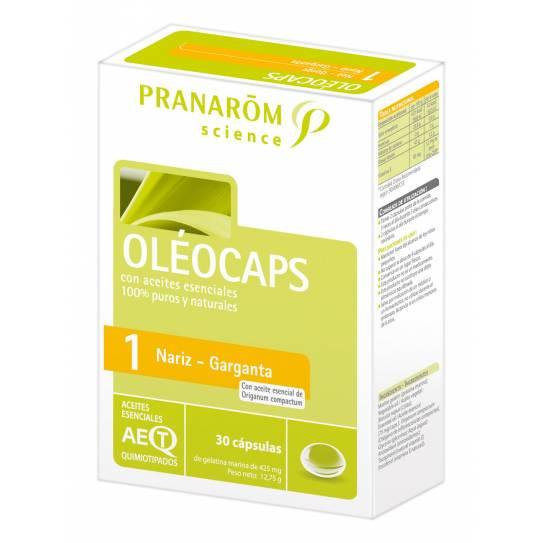 Pranarom Oleocaps 1 30Caps(AB AMOX, AUGMEN)
