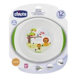 CHICCO SET PLATOS 12 M+
