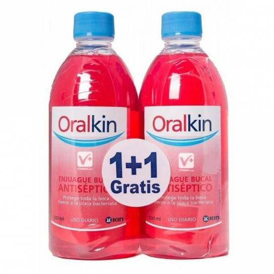ORALKIN DUPLO ENJUAGUE BUCAL 500ML