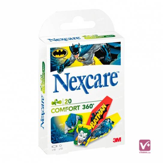 NEXCARE COMFORT BATMAN 20 SURTIDAS