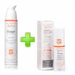 AVENE PACK ELUAGE EMULSION + ELUAGE OJOS
