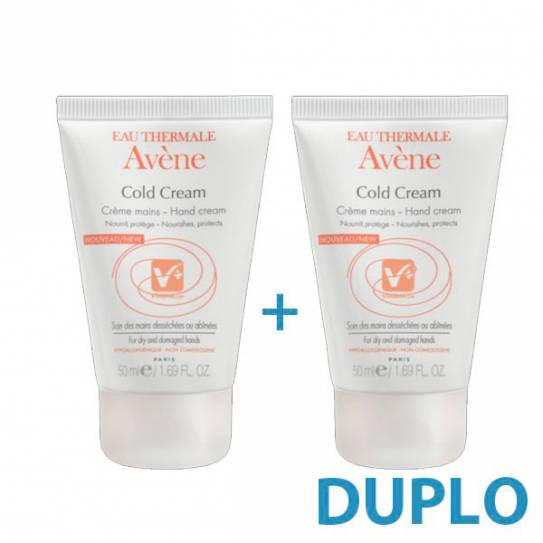 AVENE DUPLO COLD CREAM MANOS