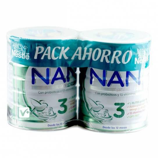 NAN 3 DUPLO 2 X 800 GR