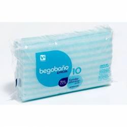 BEGOBAÑO ESPONJAS JABONOSAS 10 UDS
