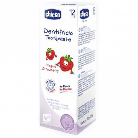CHICCO DENTIFRICO FRESA 50ML 12M+