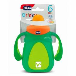 CHICCO DRINKY VASO APRENDIZAJE 200 ML +6M