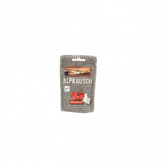 ALPRAUSCH CHICLE 31 GR FRUTOS ROJOS