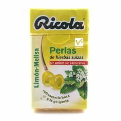 RICOLA PERLAS LIMON-MELISA SIN AZUCAR