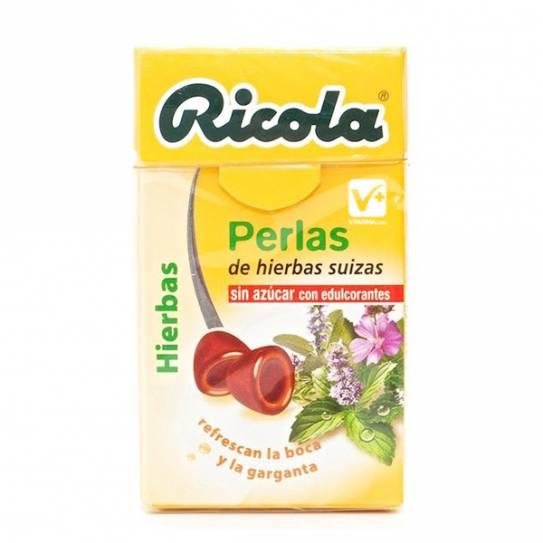 RICOLA PERLAS HIERBAS SUIZAS SIN AZUCAR