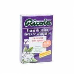 RICOLA CARAMELOS FLORES DE SAUCO SIN AZUCAR