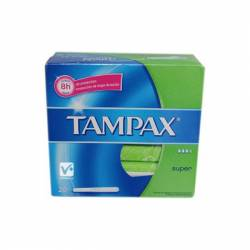 TAMPAX SUPER 20 TAMPONES