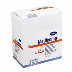 Gasa Suave Medicomp - 25 Pack de 2 uds - 10x10cm