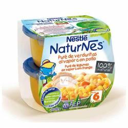 NESTLE NATURNES PURÉ DE VERDURAS AL VAPOR CON PO