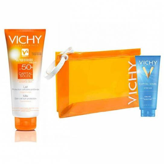 VICHY CAPITAL SOLEIL SPF 50+ HIDRA-LECHE CUERPO