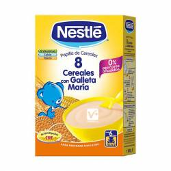 NESTLE 8 CEREALES SABOR GALLETA 600GR