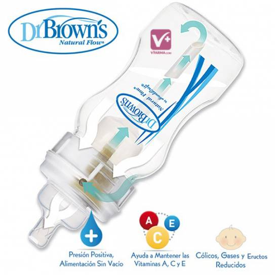 DR BROWN´S BIBERON BOCA ESTRECHA PP 240 ML