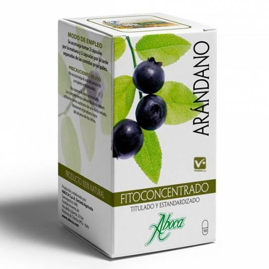 Aboca fitoconcentrado arandano 500 mg 50 cápsula
