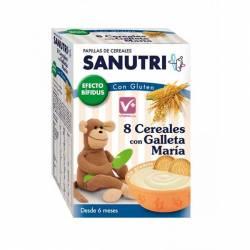 SANUTRI 8 CEREALES CON GALLETAS MARIA 600 GR EFE