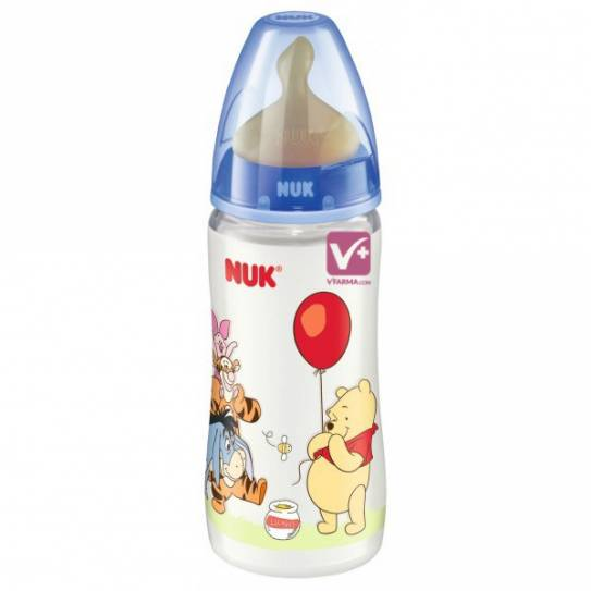NUK BIBERON FC PP LATEX DISNEY 1 MES 300 ML
