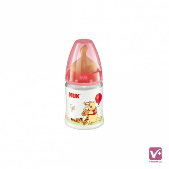 NUK BIBERON FC PP LATEX DISNEY 1 MES 150 ML