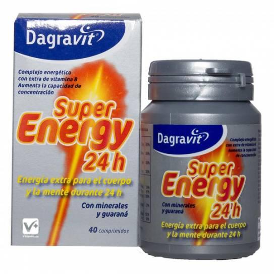 Dagravit Super Energy 24h 40 comprimidos