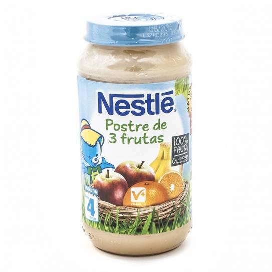Nestle Postre de 3 Frutas 250g 4m+ 1Ud