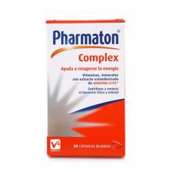PHARMATON COMPLEX 30 CAPSULAS