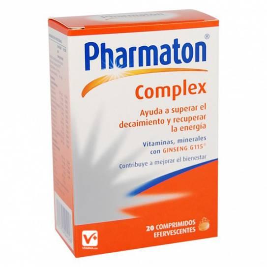 PHARMATON COMPLEX EFERVESCENTES 20 COMPRIMIDOS