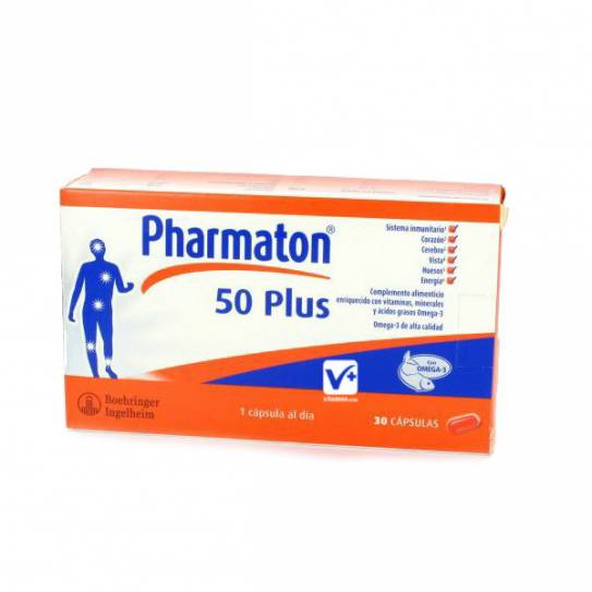 PHARMATON 50 PLUS 30 CAPSULAS