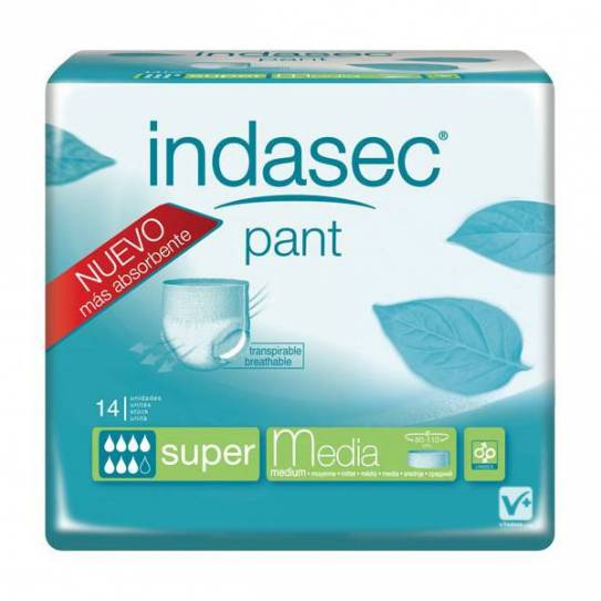 INDASEC PANT SUPER TALLA MEDIA