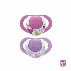 CHICCO CHUPETE PHYSIO ROSA 12 M+ 2UDS