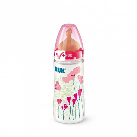 NUK BIBERON ROSE PP LATEX 2L 300ML