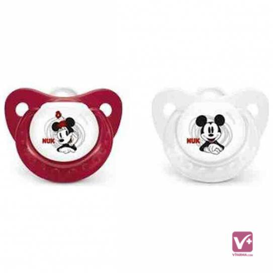 NUK CHUPETE LATEX DISNEY MICKEY TALLA 1
