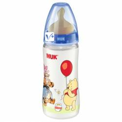 NUK BIBERON FC PP LATEX DISNEY 0-6 M 300 ML