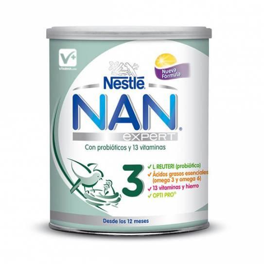 Nan 3 Expert 800 Gr - Leche Infantil
