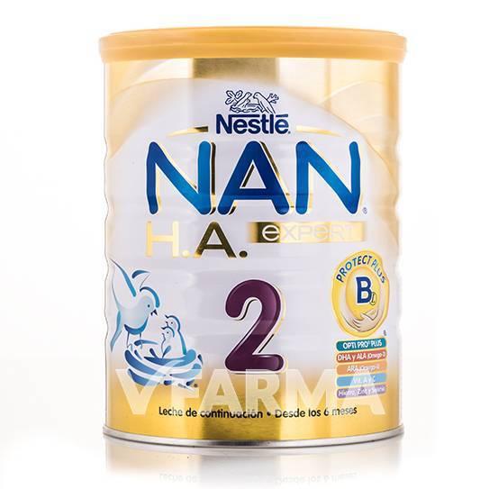 Leche NAN 2 HA Expert 800 grs