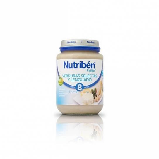 NUTRIBEN LENGUADO CON VERDURAS 250 GR