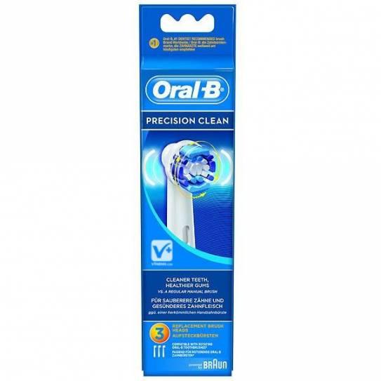 ORAL B RECAMBIO CEPILLO ELECT PRECISION CLEAN 3