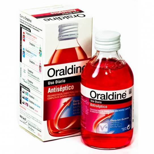 ORALDINE ANTISEPTICO 200ML