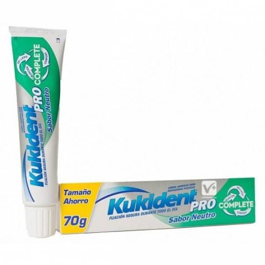 KUKIDENT PRO COMPLETE NEUTRO 70GR Crema Adhesiva