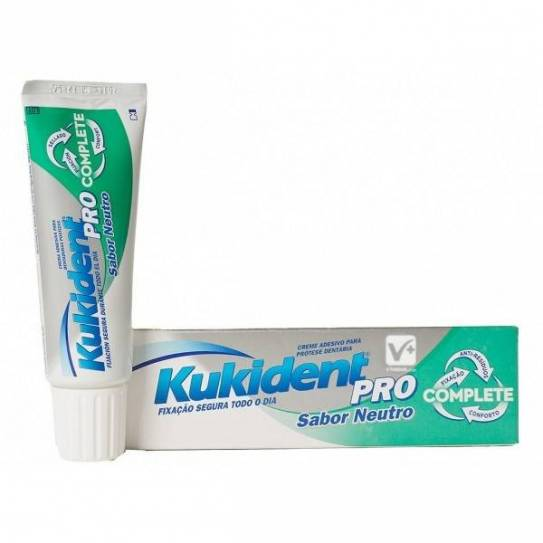 KUKIDENT PRO COMPLETE NEUTRO 47GR Crema Adhesiva