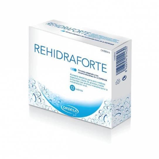 REHIDRAFORTE 12 SOBRES