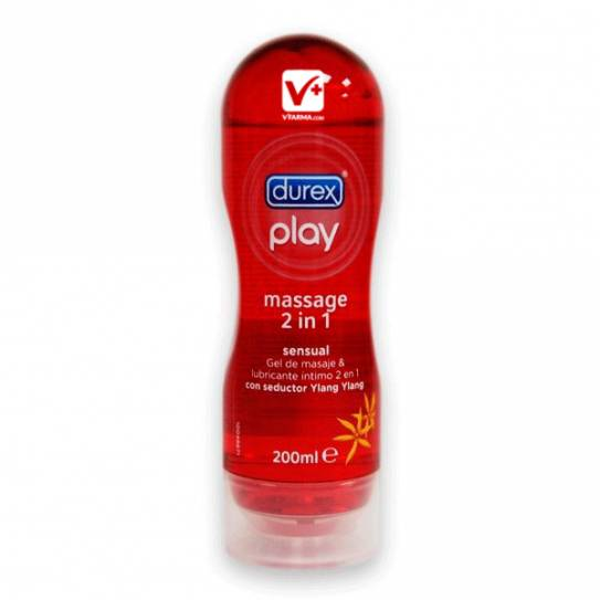 DUREX PLAY MASSAGE SENSUAL GEL Y LUBRICANTE