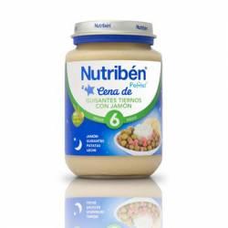 NUTRIBEN CENA GUISANTES CON JAMON 200 GR