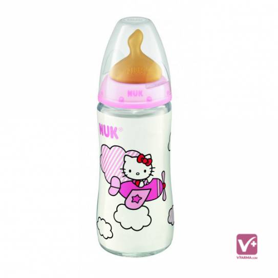 NUK BIBERON LATEX HELLO KITTY TETINA 2 POSICIONE