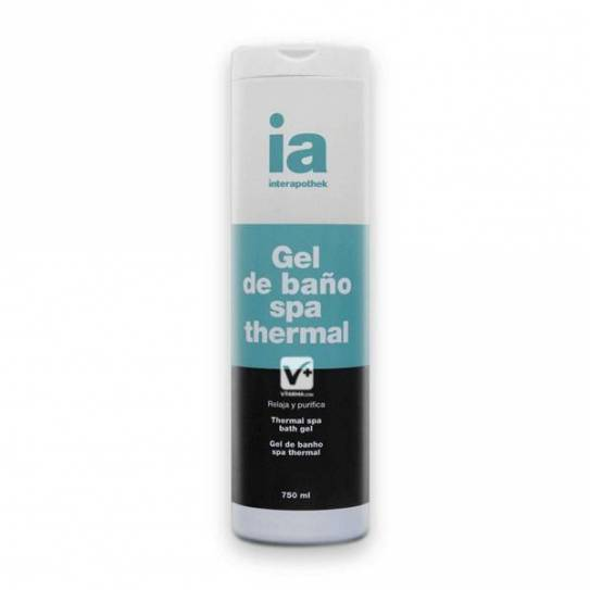 INTERAPOTHEK GEL DE BAÑO SPA THERMAL 750ML
