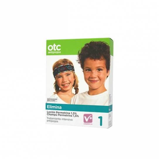 OTC antipiojos permetrina 1.5% pack tratamiento
