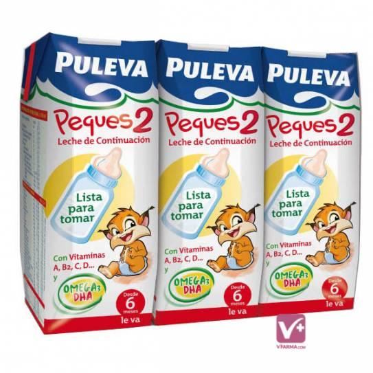 PULEVA PEQUES 2 LIQUIDA 3 X 250 ML